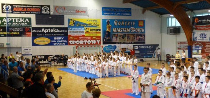 Konecki Turniej Karate o Puchar z Żeliwa 04.10.2015 w Końskich
