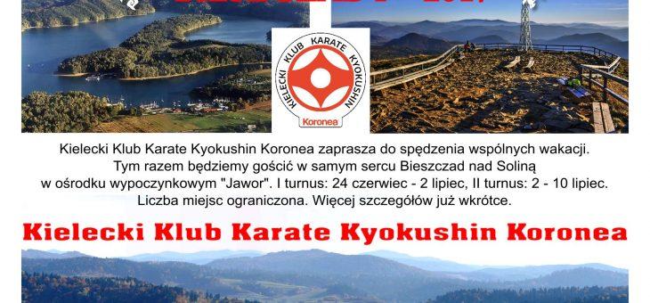 Obóz Letni 2017 w Bieszczadach