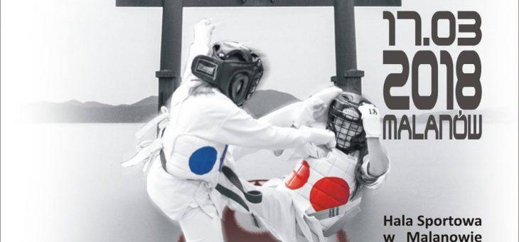 Malanów 17.03.2018: POLISH FIGHTER CUP-Międzynarodowy Turniej Karate Kyokushin