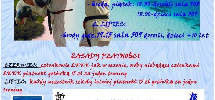 Letnia Szkoła ŁKKK-Edycja 2018
