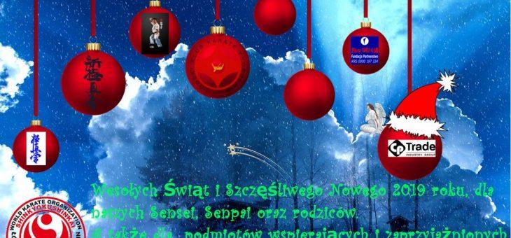 Życzenia na Święta i Nowy Rok 2019