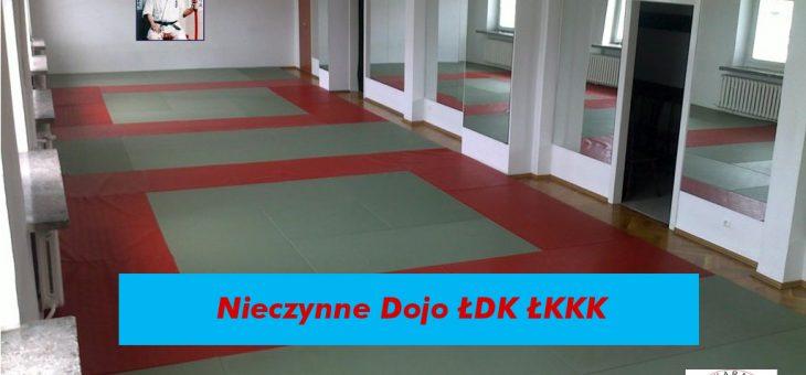 W dniach 01-05.05.2019 Dojo ŁDK ŁKKK będzie nieczynne