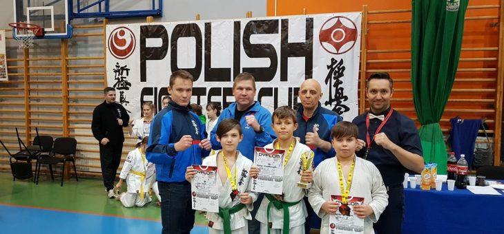 Polish Fighter Cup-Ogólnopolski Turniej Karate Kyokushin/Shinkyokushin: 24.11.2019 Koło