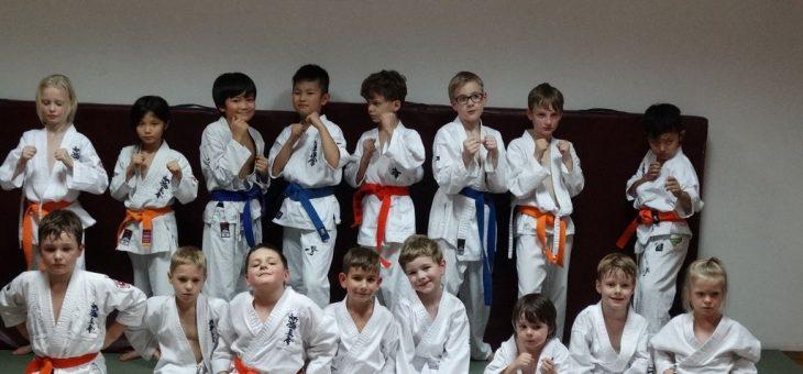 Migawka z treningów w grupach dzieci ŁKKK-11.2019