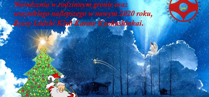 Życzenia Świąteczne i Noworoczne od ŁKKK