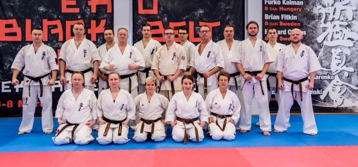 EKO Black Belt Seminar 06-08.03.2020 w Dojo Stara Wieś