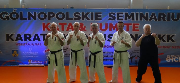 Ogólnopolskie Seminarium Kata&Kumite Karate Kyokushin PZKK 16-18.10.2020