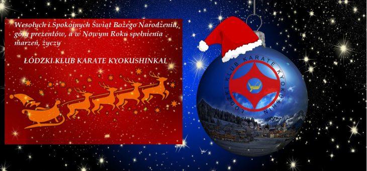 Kartka z Życzeniami Świątecznymi od ŁKKK
